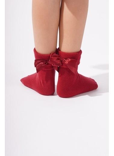 Katia & Bony Newyork Çocuk Soket Çorap  Bordo